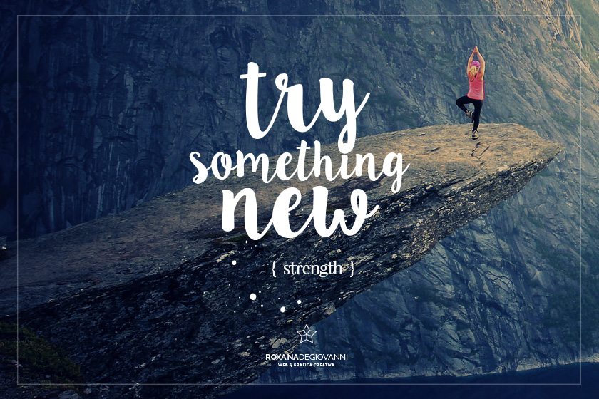 Febbraio: try something new